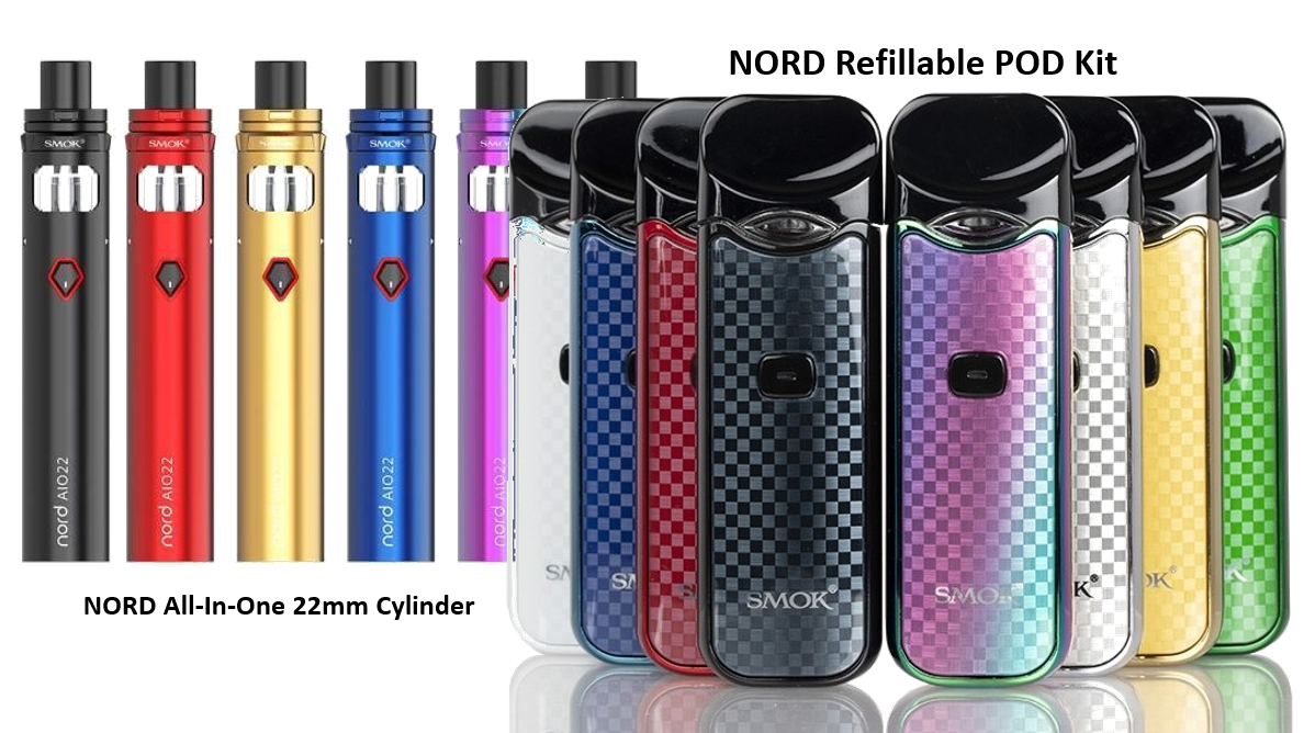 Smok NORD KIt and NORD AIO22