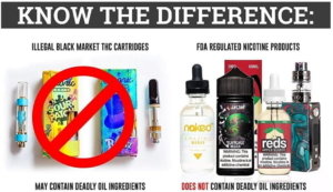 Avoid THC Black Market Cartridges